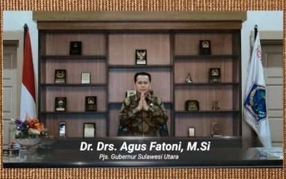 Pjs Gubernur Sulut ungkap 2 (dua) Peristiwa Penting di acara Dies Natalis ke-59 UNSRAT secara Virtual
