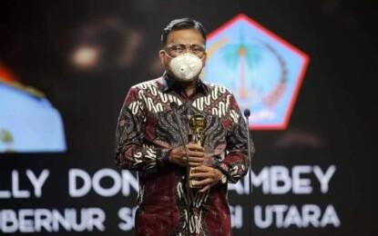 Olly Dondokambey Raih Indonesia Award 2020