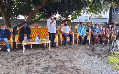 Temui Rukun Permata, Lomban : Dalam Diri Saya Mengalir Darah Nusa Utara