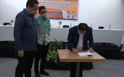 Herwyn Malonda Luncurkan Buku 'Green Constitution Masa Depan Pemilu Indonesia'