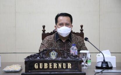 Pjs Gubernur Fatoni Imbau Pjs Bupati/Walikota Terus Sosialisasikan Protokol Kesehatan ke Seluruh Paslon