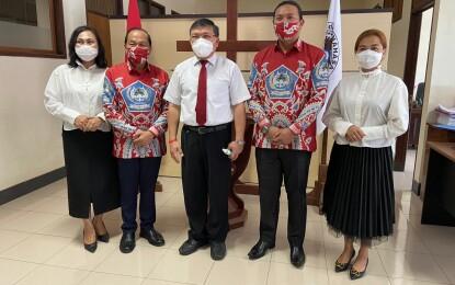 Perjumpaan Kasih Kantor Sinode GMIM, Ketua BPMS Doakan MJL – MDT