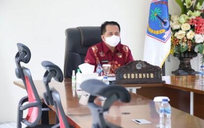Dibuka Jokowi; Pjs Gubernur Fatoni Ikuti Rakornas Pengendalian Inflasi 2020