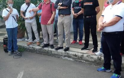 Tanpa Kanjian/Uji Kelayakan_M2O Akhirnya Menutup Portal Parkir Pasar 54 Amurang