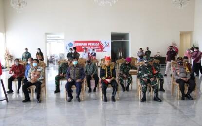 Fatoni Ikut Upacara Peringatan Sumpah Pemuda yang Dipimpin Presiden Jokowi