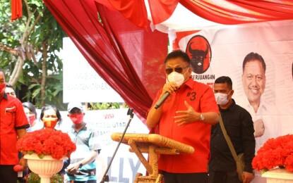 Tiga Hari Sambangi Nusa Utara, Olly Dondokambey Makin Optimis Sapu Bersih Pilgub 2020