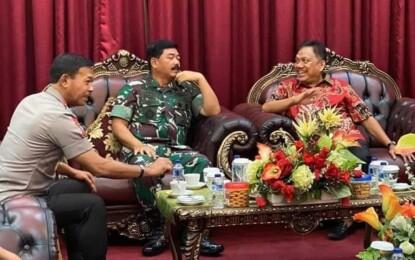 HUT ke-75 TNI, Olly : TNI Selalu di Hati Masyarakat Sulut