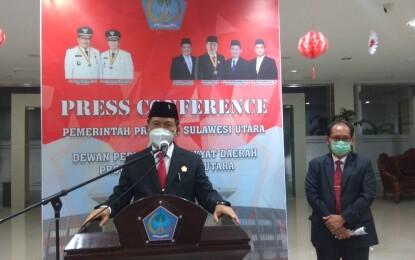 Putra Nusa Utara, Andi Silangen Resmi Pimpin DPRD Sulut