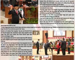 "dr Fransiscus Silangen SpB, KBD Resmi Dilantik ""Anak Pulau Penjual Es Lilin"" Nahkodai DPRD Sulut"