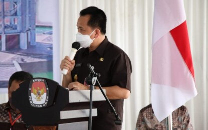 Jelang Pilkada, Pjs Gubernur Fatoni Apresiasi Simulasi Pemungutan Suara dengan Protokol Covid-19
