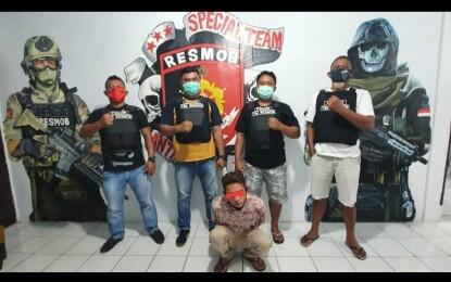 Resmob Polres Bitung Gulung DPO Polsek Passi