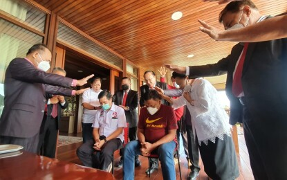Petinggi Majelis Daerah GPDI Sulut Doakan Olly-Steven Sukses di Pilgub 2020