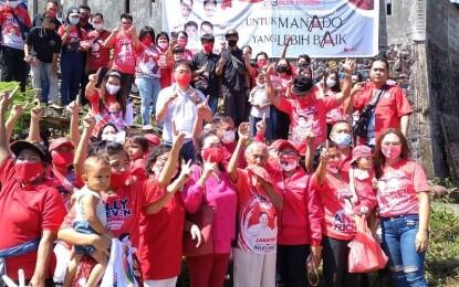 Masuk Keluar Lorong, AA-RS Tuai Dukungan Warga Manado