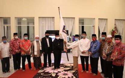 Lepas Kafilah Sulut ke MTQ Nasional di Padang, Fatoni Ingatkan Soliditas dan Patuhi Prokes
