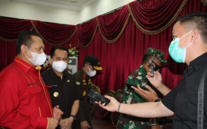 Ketua MPR Dukung Rencana Pemprov Sulut Gelar Gerakan Sulut Bermasker