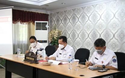 Pjs Gubernur Fatoni Pimpin Rapat Matangkan Persiapan Launching Gerakan Sulut Bermasker