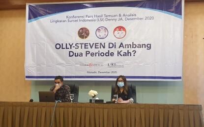 LSI: Pemilih Perempuan pun Lebih Memilih Olly-Steven