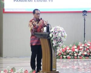 Pukul Tetengkoren, Mendagri Tito Karnavian Launching Gerakan Sulut Bermasker