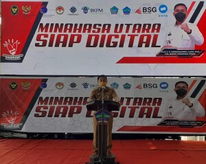 Pemkab MINUT Gelar Sosialisasi Minahasa Utara Siap Digital, Bagi Pelaku UMKM