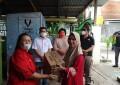 Peduli Bencana, Fraksi PDIP DPRD Sulut Salurkan Bantuan di Manado