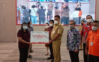Dipimpin Presiden Jokowi, Gubernur Olly Ikuti Peluncuran Bantuan PKH, BPNT dan BST se Indonesia