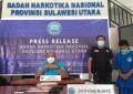 BNNP Sulut Ringkus Penghuni Lapas Tondano, Pemilik Paket 41 Gram Sabu