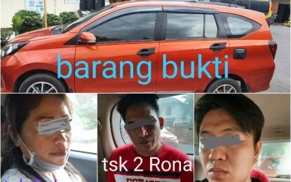 Sindikat Bandit Pencuri Mobil Digulung Reskrim Polres Bitung