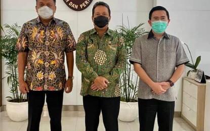 Gubernur Olly Temui Menteri KKP Trenggono, Bahas Sektor Perikanan dan Rencana Kunker ke Sulut