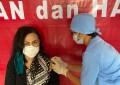Khouni Lomban – Rawung Terima Suktikan Vaksin Tahap Kedua