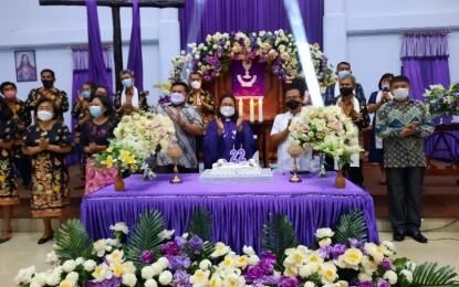HUT ke-22 Jemaat Efrata Kalasey Satu, Dirayakan dalam Kesederhanaan