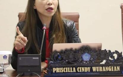 Pupuk Bersubsidi Langkah di Masyarakat, Ini Kata Ketua Komisi II DPRD Sulut, Cindy Wurangian