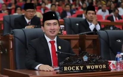 Rocky Wowor Ketua Pansus LKPJ Gubernur 2020