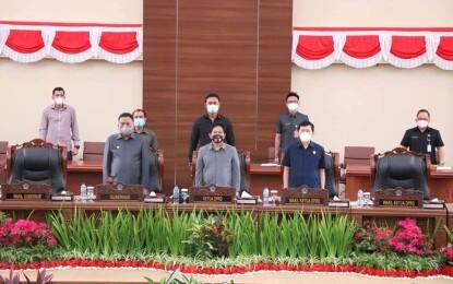 DPRD Sulut Laksanakan Rapat Paripurna LKPJ Gubernur Tahun 2020