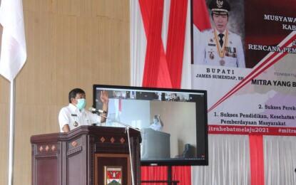 Sumendap Buka Musrenbang RKPD Tahun 2021