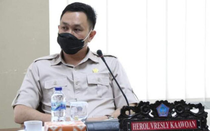 Ini Kata Herol Vresly Kaawoan Setelah Terpilih Menjadi Wakil Ketua Komisi I