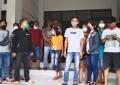 Merasa Kecewa DiBohongi, Puluhan Karyawan Eks SAKURA MART Datangi Disnaker Minsel