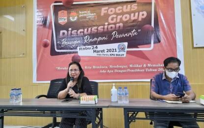 Rampungkan Buku Bunga Pewarta, KPU Sulut Kembali Laksanakan FGD