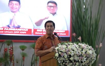 Dinahkodai Rio Dondokambey, Wagub Kandouw Optimis KNPI Sulut Tangguh dan Mandiri