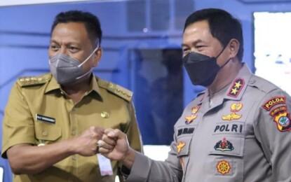 Gubernur Olly Dondokambey Apresiasi Kerja Sama Pengintegrasian CCTV di Polda Sulut
