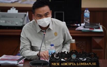 Nick Lomban Pertanyakan BTP Disperindag Sulut yang Mencapai Rp2.5 M
