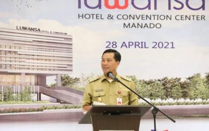 Wagub Kandouw Sebut Hotel Luwansa Realisasi Investasi di Tengah Pandemi