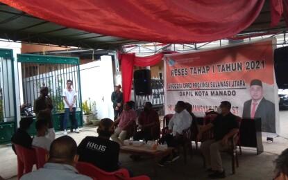 Hilman Idrus Serap Aspirasi di Kecamatan Tuminting