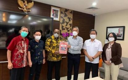 Emban Tugas Wakil Rakyat, LOLOWANG Ikut Dampingi Bupati/Wabup FDW PYR Dikementerian