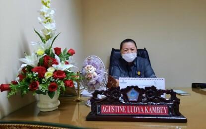 Agustien Kambey Minta Kontraktor Pekerjakan  Tenaga Lokal