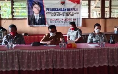 Turun Reses, JACKO Jemput Aspirasi Warga Desa Pakuweru Utara
