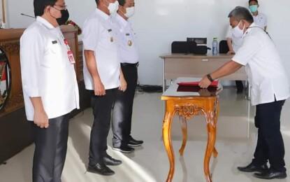 H.Ismail Muddin Resmi Jabat Direktur OPS CWE