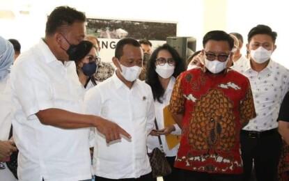 Tindaklanjuti Arahan Presiden Jokowi, Menteri Investasi Tinjau Langsung KEK Bitung