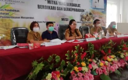 Penilaian Kabupaten Layak Anak Tahun 2021Di Kabupaten Minahasa Tenggara Berjalan Lancar
