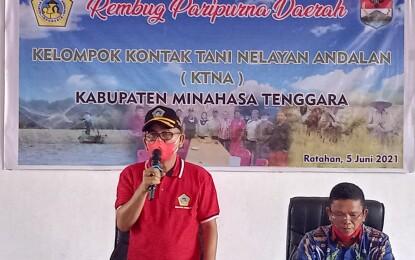Terpilih Aklamasi,Semuel Montolalu,SH Sah Pimpin KTNA Mitra Periode 2021-2026