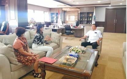 Wagub Kandouw Terima Audiensi PT. Garuda Indonesia Cabang Manado